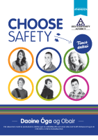 Choose Safety Students Workbook - Irish front page preview