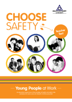 Choose Safety Teachers front page preview