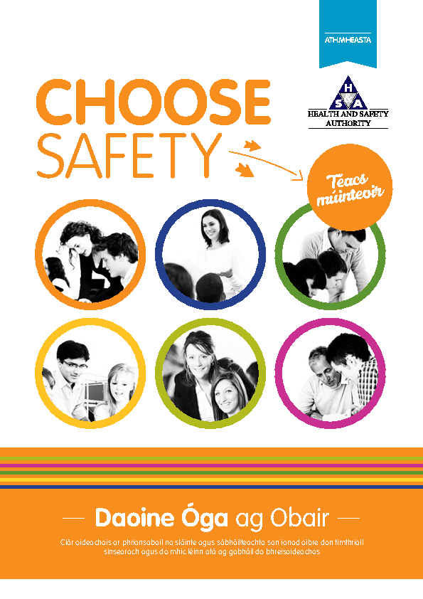 Choose Safety Teachers Text - Irish front page preview