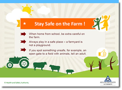 Farm Safety Presentation - Primary - Health and Safety Authority