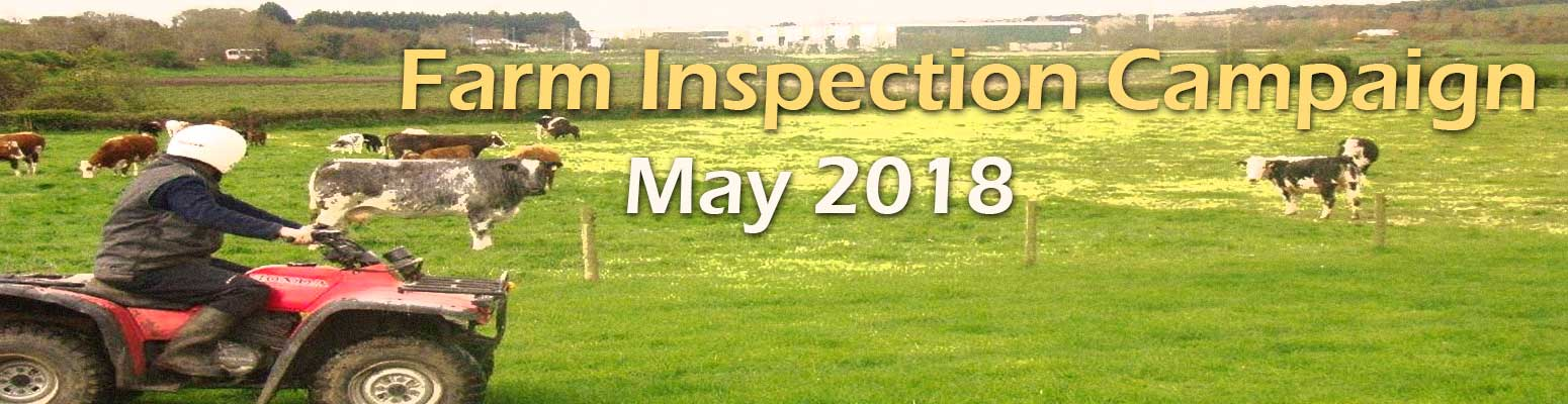 Farm Inspection Campaign May 2018
