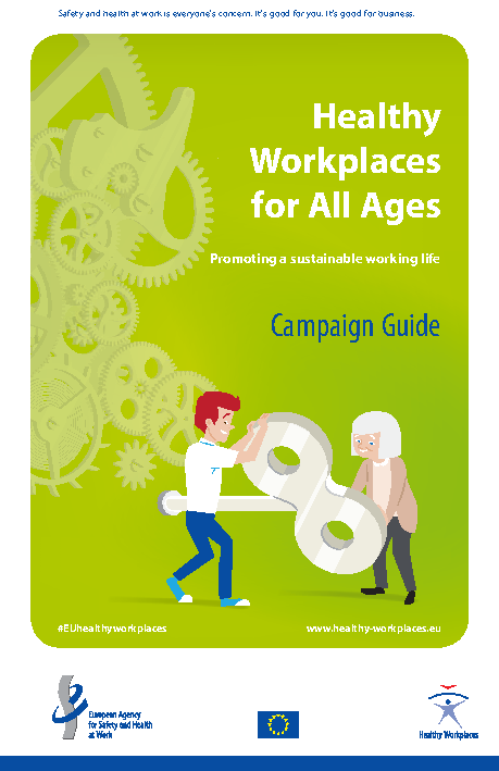 Healthy Workplaces for All Ages - Campaign Guide front page preview