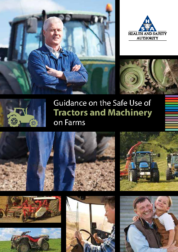Guidance on the Safe Use of Tractors and Machinery on Farms front page preview