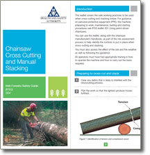 Irish Forestry Safety Guide - Chainsaw Cross Cutting