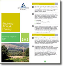 Irish Forestry Safety Guide - Electricity