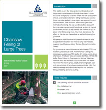 Irish Forestry Safety Guide - Large Trees