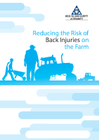 Reducing the Risk of Back Injuries on the Farm front page preview