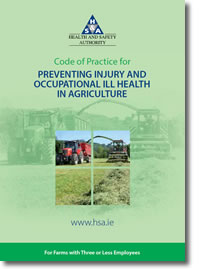 code of practice for preventing injury and occupational ill health