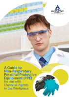 A Guide to Non-Respiratory Personal Protective Equipment (PPE) for use with Chemical Agents in the Workplace front page preview