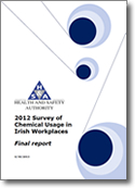 chemicals usage survey cover