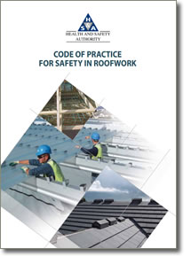 code of practice for safety in roofwork health and safety authority