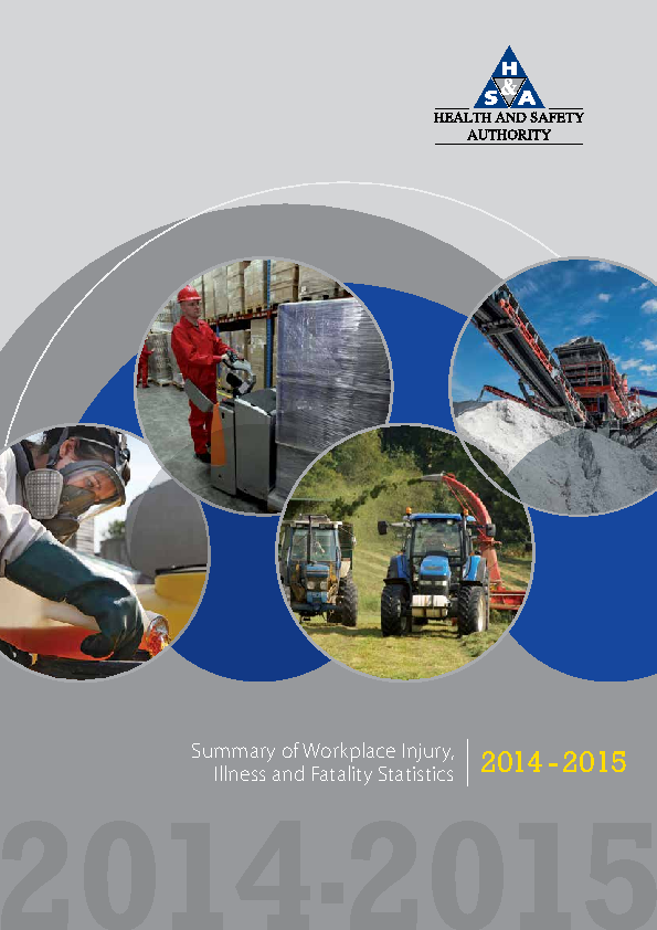 HSA Statistics Report 2014-2015 front page preview