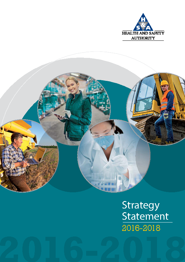 HSA Strategy Statement 2016 front page preview