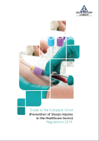 Sharps Regulations Guidelines 2014 front page preview