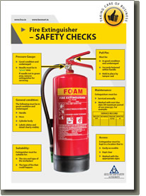 Fire Extinguisher Safety Checks Cover