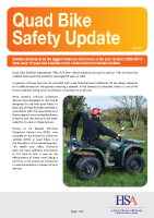 Quad Bike Safety Update front page preview