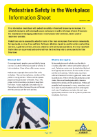 pedestrian safety in the workplace front page preview