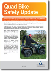 Quad Bike Safety Update Health And Safety Authority