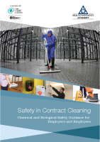 Safety in Contract Cleaning front page preview