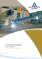 Local Exhaust Ventilation (LEV) Guidance front page preview
