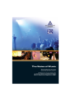 The Noise of Music front page preview