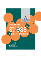 Work Related Stress front page preview