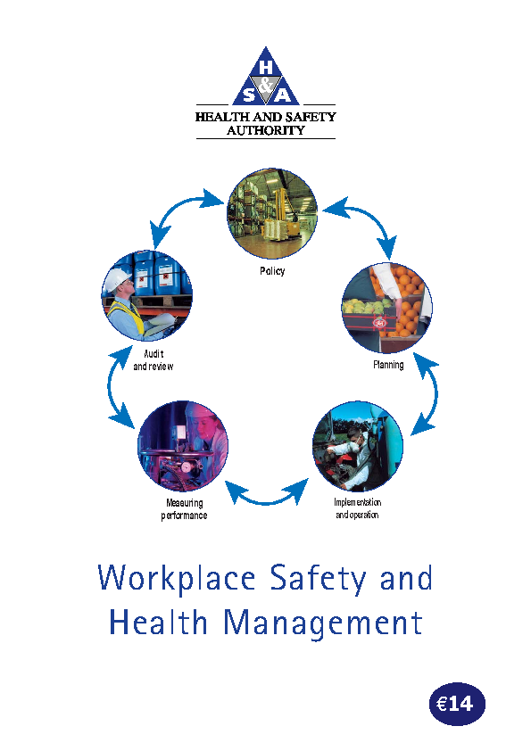 Workplace Safety and Health Management front page preview