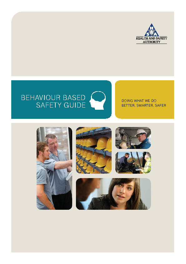 behaviour based safety guide front page preview