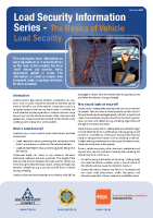 Load Security Information Series front page preview