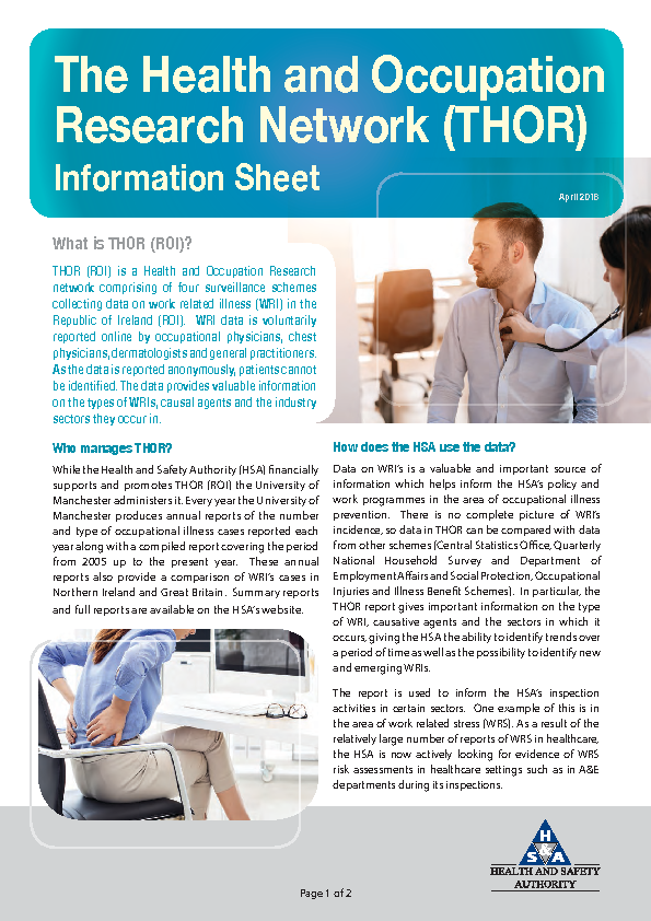 THOR Information Sheet 2018 front page preview