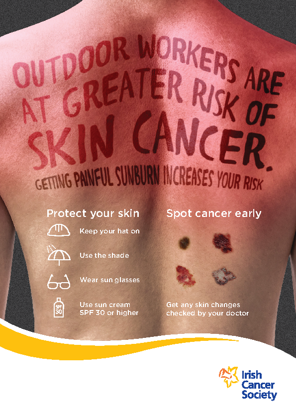 ICS Outdoor Work Skin Cancer front page preview