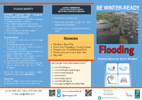 Winter Ready Advice on Flooding English Version front page preview