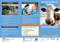 Winter Ready for Farm Families English Version front page preview