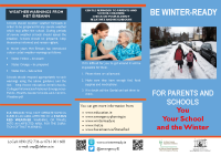 Winter Ready for Schools English Version front page preview