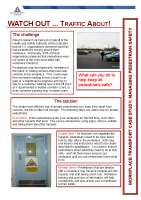 Pedestrian Safety front page preview