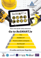 BeSMART.ie Information Poster front page preview
