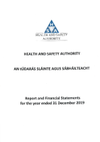 Financial Statements 2019 front page preview