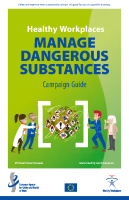 Healthy Workplaces Manage Dangerous Substances - Campaign Guide front page preview