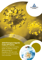 COP Biological Agents 2020 front page preview