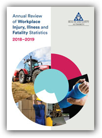 Annual-Review-of-Workplace-Injury,-Illness-and-Fatality-Statistics,-2018-2019-cover