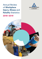 Annual Review of Workplace Injury, Illness and Fatality Statistics, 2018-2019 front page preview