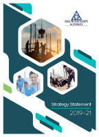 HSA Strategy Statement 2019-21 front page preview