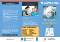 Winter Ready Weather Warnings English Version front page preview