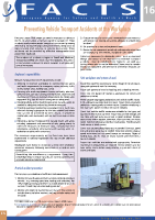 Preventing Vehicle Transport Accidents at the Workplace front page preview