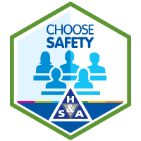 choose safety completion digital badge