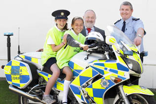 HSA Keep Safe Garda Road Safety