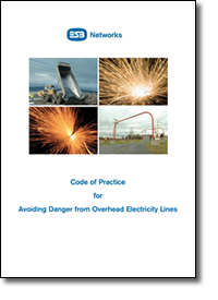 Esb Code Of Practice For Avoiding Danger From Overhead Electricity Lines Health And Safety
