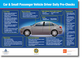 Vehicle Safety Check Posters Health And Safety Authority