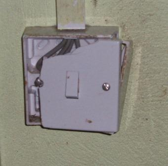 Broken switch