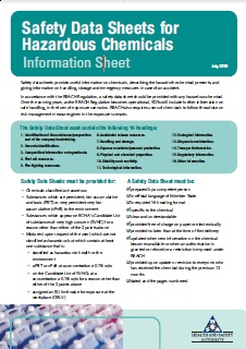 Fire prevention health and safety authority safety data sheet maxwellsz